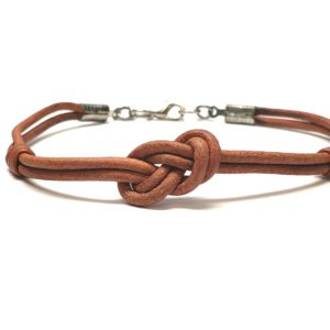 Unisex Infinity Knot Bracelet