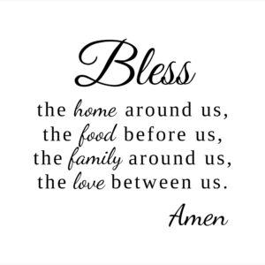 Bless This House Wall Decor | Inspirational Quote