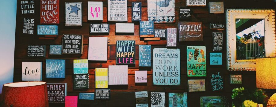Your Future Goals on a Vision Board!