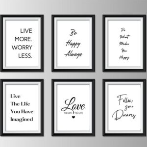 Inspirational & Motivational Quote Wall Décor 3